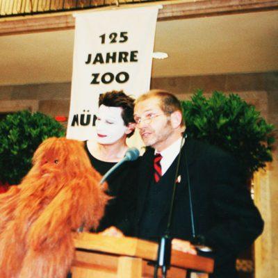 Treffen mit Zoodirektor Adler