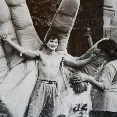 Große Hand. Stadtfest Hannover 1987