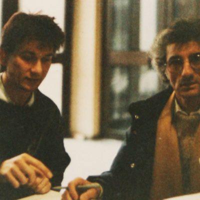 Treffen mit Samy Molcho 1987