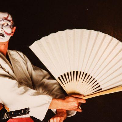 Showtime mit Samurai